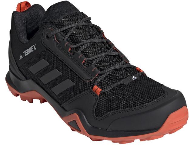 super cheap hot sale good out x adidas TERREX AX3 Shoes Men core black/carbon/active orange